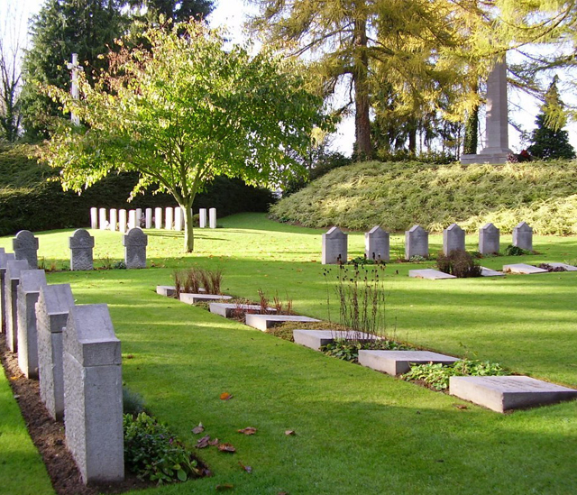 St. Symphorien Military Cemetery - Copyright Commonwealth War Graves Commission