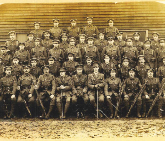 D Company 11th Southdowns Battalion, Royal Sussex Regiment
