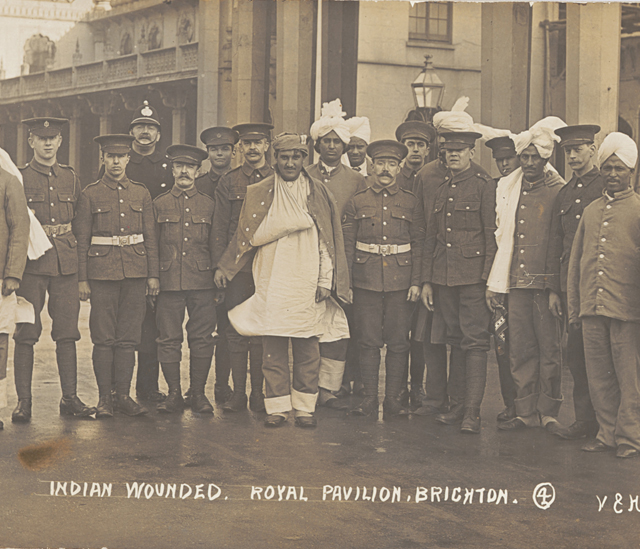 Indian soldiers at the Royal Pavilion - The Royal Pavilion and Museums, Brighton & Hove
