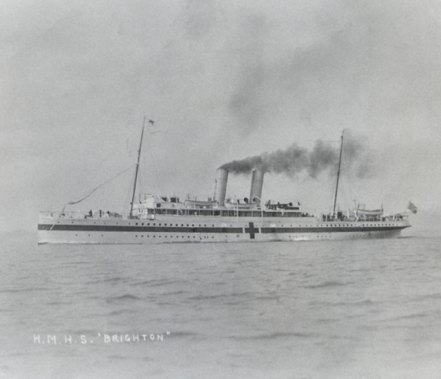Ss Brighton Iv And Hospital Ships Ww1 East Sussex