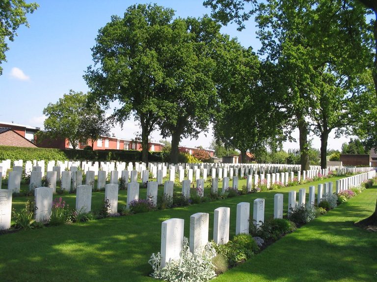 Poperinghe New Military Cemetery. Private Tite's body is laid to rest here.