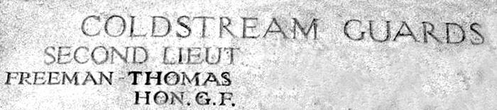 Hon GF Freeman-Thomas name