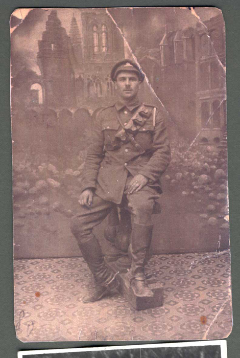 John Cole WW1. Image courtesy of Peter Cole