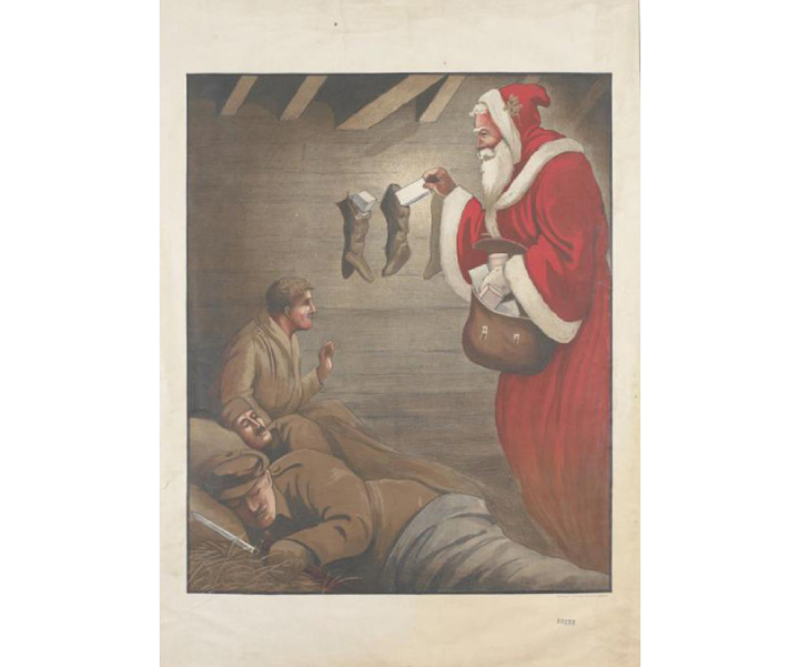 Christmas in the First World War - WW1 East Sussex
