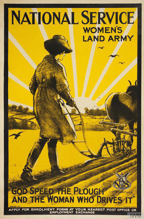 4407df16f3b National Service - Women s Land Army - God Speed the Plough and the Woman  Who Drives
