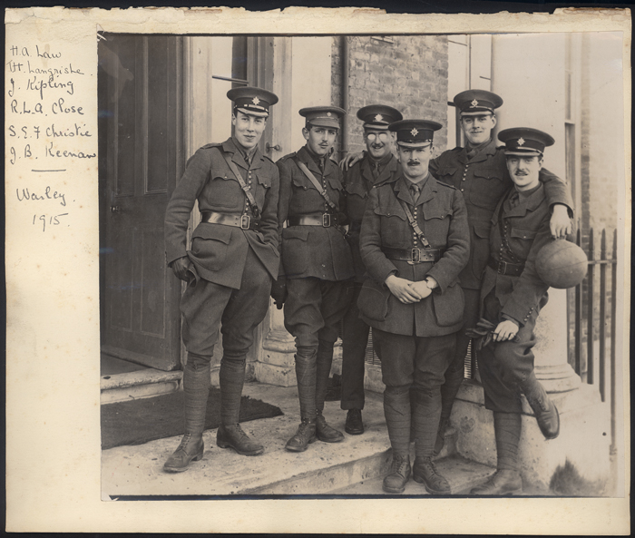 John Kipling and friends - Courtesy of the National Trust