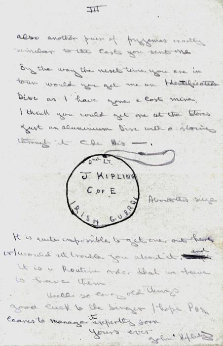 rudyard kipling poems on friendship