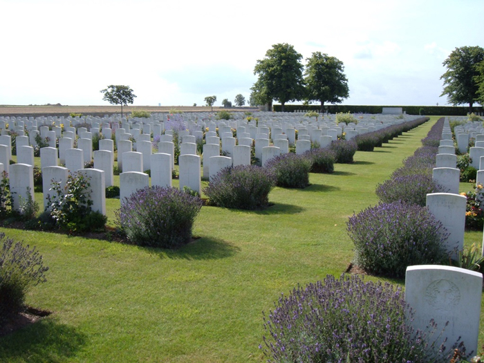 St Mary's ADS Cemetery in Haines - © Commonwealth War Graves Commission