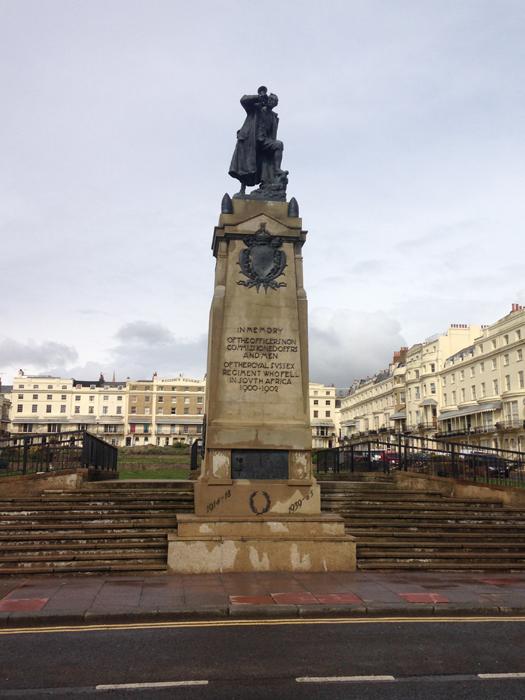 Boer War Memorial, Brighton - image courtesy of Sophie Unger
