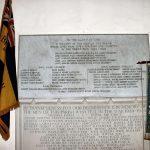First World War Memorial Plaque in Framfield Church - Image Courtesy of Framfield Church