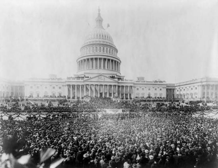 President Woodrow Wilson's Second Inauguration, January 1917