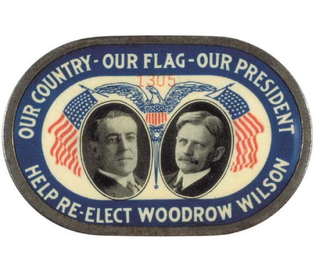 1916 American Presidential Election Ww1 East Sussex